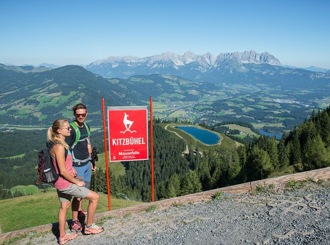 Experience the Tyrolean mountains